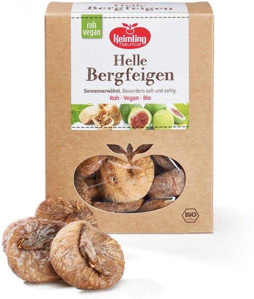 Helle Bergfeigen - getrocknet - Bio - 500g