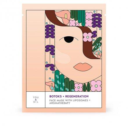 Gesichtsmaske Botoks und Regeneration mit Liposomen - 25 ml