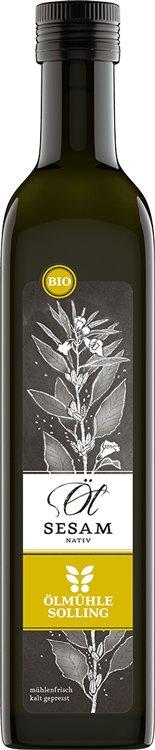 Natives Sesamöl in Bio-Qualität