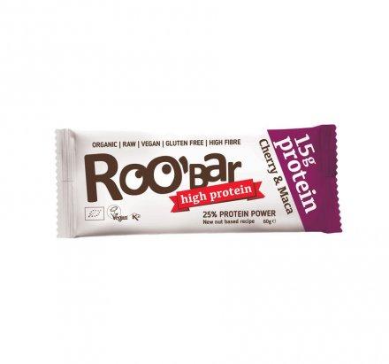 Roo'bar Kirsche Maca - Bio - 60g