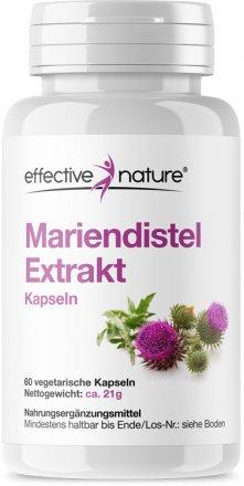 Mariendistel Extrakt Kapseln- 60 Stk. - 21g