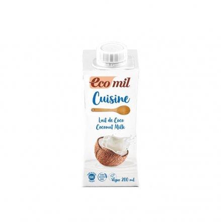 Cuisine Kokos Sahneersatz - EcoMil - Bio - 200ml