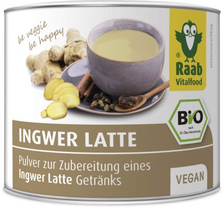 Ingwer Latte - Bio - 70g