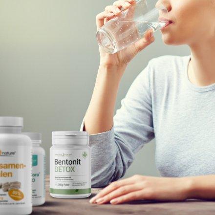 Intensive Darmreinigung als Shake mit Probiotika