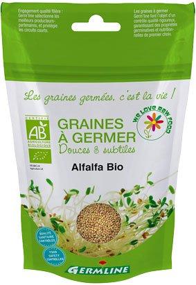 Keimsaat für Alfalfa Sprossen