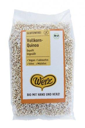 Gepuffte Vollkorn-Quinoa - in Bio-Qualität