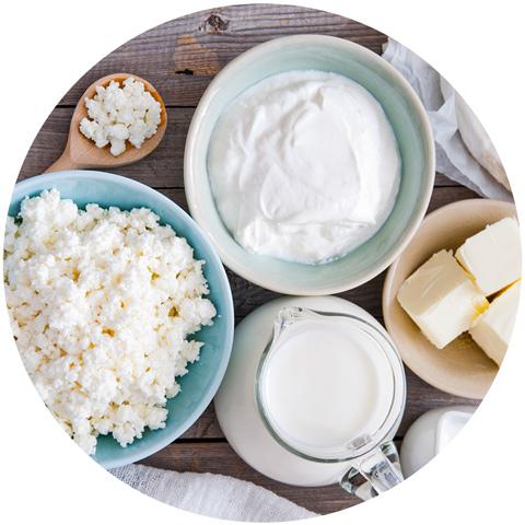 Milchprodukte und Laktoseintoleranz