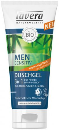 Men Sensitive Duschgel 3 in 1 - Lavera