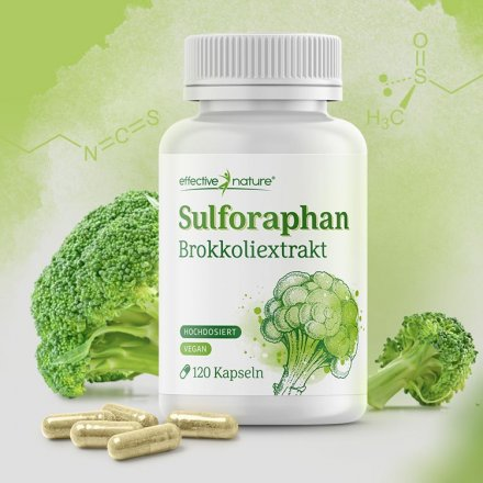 Sulforaphan Kapseln - 120 Stk.