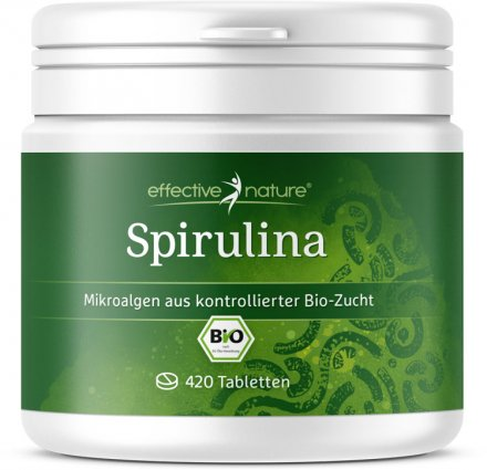 Spirulina-Algen-Tabs