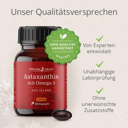 Astaxanthin aus Island - mit Omega-3