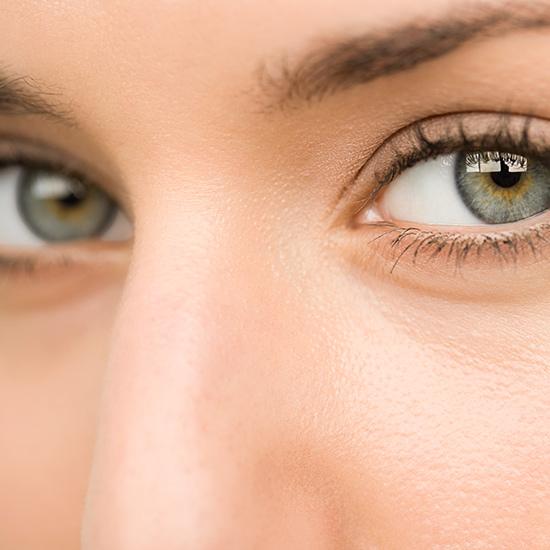 Augen einer Frau - Nahaufnahme