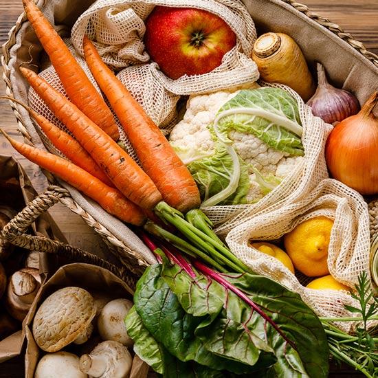 Vitamin D in Nahrungsmitteln