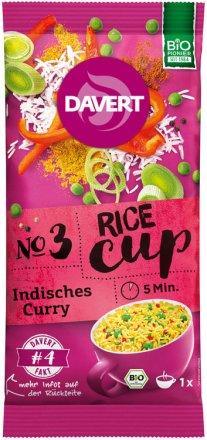 Rice-Cup Indisches Curry - Bio - 67g - Davert