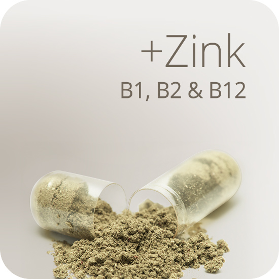 Mit Zink und ausgewählten B-Vitaminen