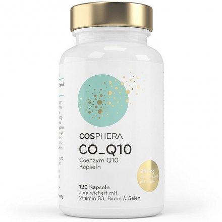 Coenzym Q10 Kapseln mit B3, Biotin & Selen