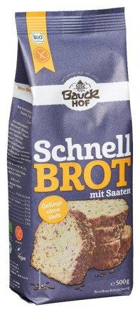 Schnellbrot, glutenfrei - Bio - Bauck Hof - 500g