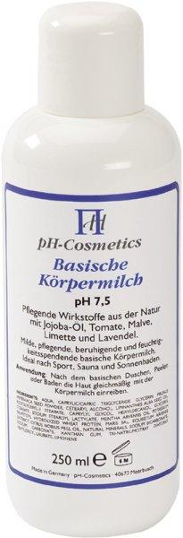Basische Körpermilch - pH 7,5 - 250ml