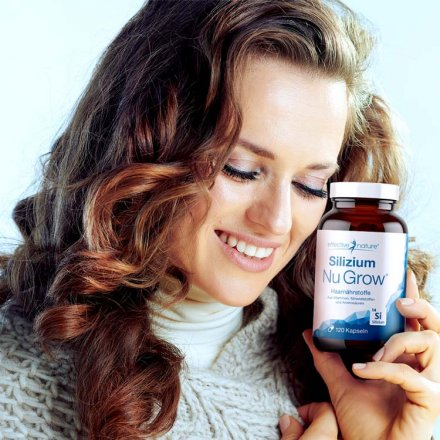 Silicon Nu Grow - Hair Nutrients Capsules