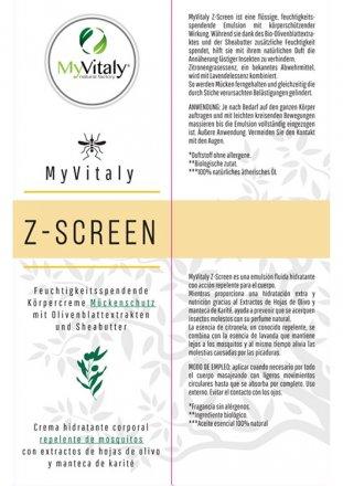 Z-Screen - Körperlotion - 100ml