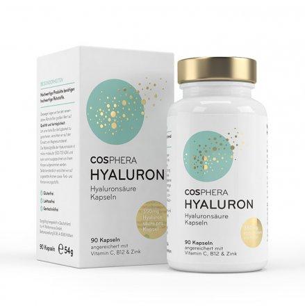 Sparpaket Hyaluron Säure und Coenzym Q10 Kapseln