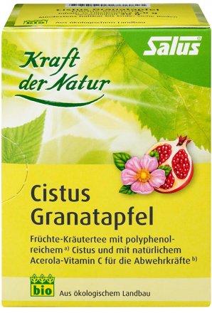 Kräutertee mit Cistus und Granatapfel