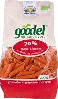 Goodel Penne - Nudeln aus roten Linsen und Lupinen