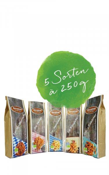 Noodle-Bros. Probierpaket 5 x 250g