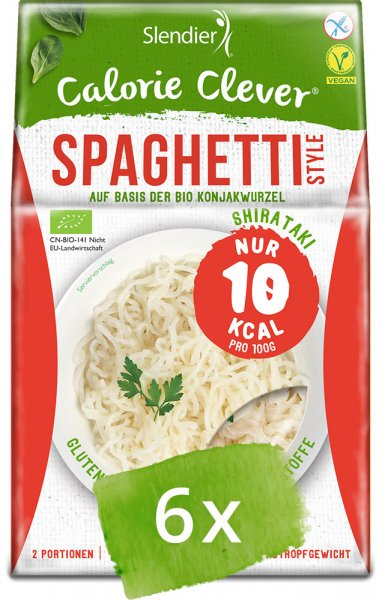 Konjak Spaghetti - Slendier - Bio