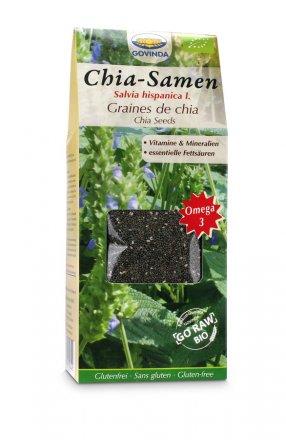 Chia-Samen aus kontrolliertem Bio-Anbau