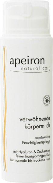 Verwöhnende Körpermilch - Feuchtigkeitspflege mit Hyaluron & Zaubernuss - 150ml