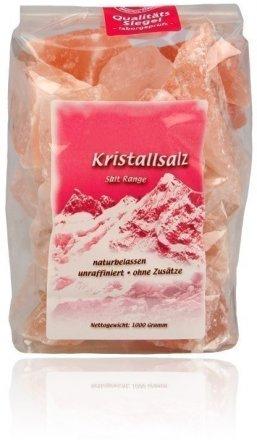 Naturbelassenes Kristallsalz - eignet sich besonders zur Herstellung einer Sole