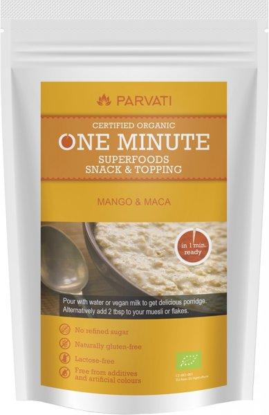 One Minute Snack - Mango & Maca - Bio - 300g