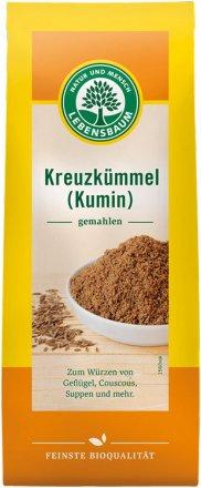 Kreuzkümmel gemahlen (Kumin) - Bio - Lebensbaum - 40g