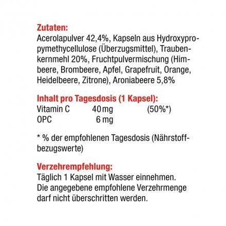 FitC - Vitamin C und OPC - 60 Kapseln