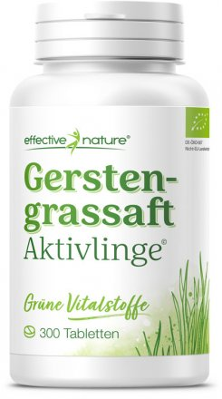 Gerstengrassaft - 300 Tabletten