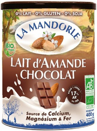 Mandeldrink Pulver Schokolade - Bio