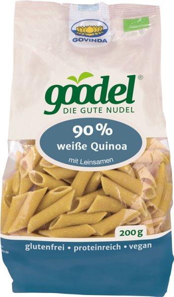 Goodel - Penne aus weißem Quinoa - Bio - 200g