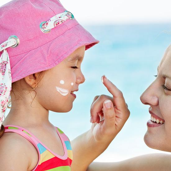 Sonnenmilch für Kinder