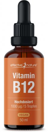 Vitamin B12 drops - High Dosage & Vegan