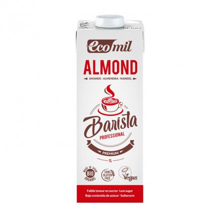 Mandel Drink Barista - EcoMil - Bio - 1000ml