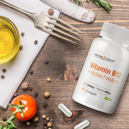 Vitamin B12 and Folic Acid (5-MTHF)