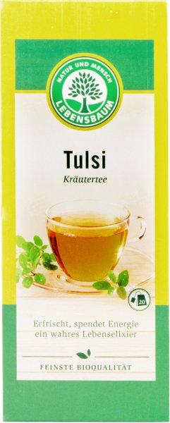 Tulsi-Kräutertee Bio-Qualität im Aufgussbeutel - 30g