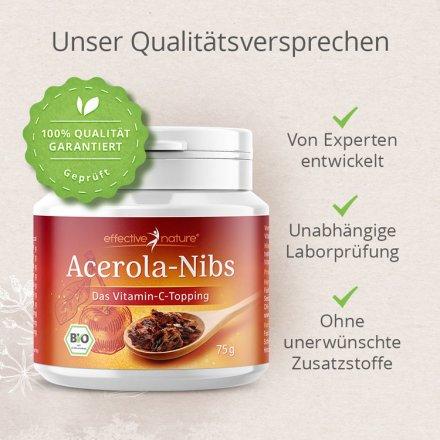 Acerola-Nibs für die Extraportion Vitamin C - in Bio-Qualität