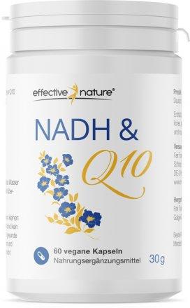 NADH + Q10 Kapseln - 60 Stk. - 30g