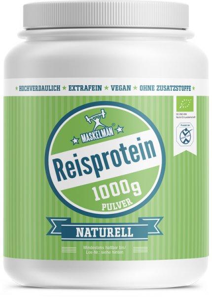 Maskelmän Reisprotein - 80% Proteingehalt - Bio