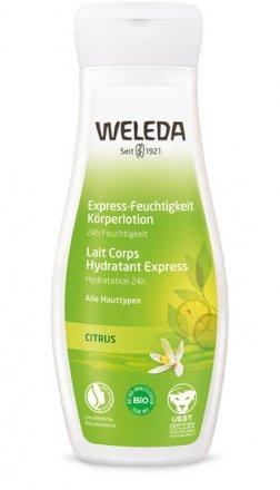 Citrus Feutigkeitslotion - Weleda