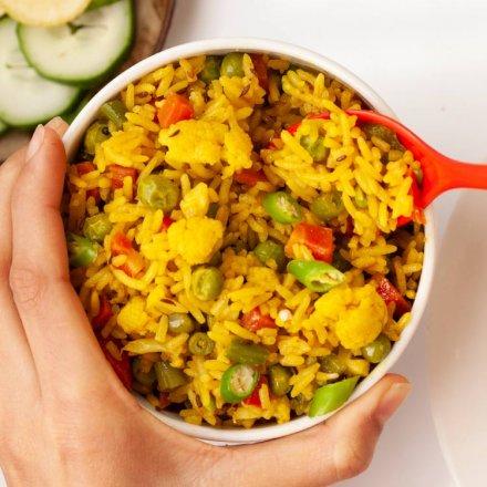 Thai Curry Pfanne mit hochwertigen Bio-Zutaten