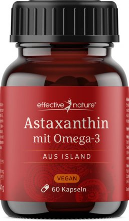 Astaxanthin from Iceland - with Omega-3