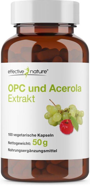 OPC- und Acerola-Extrakt